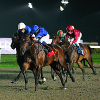 Cat O'Mountain and M Barzalona winning the 7.50 race