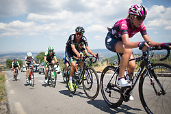 Moniek Tenniglo (NED) of WM3 Pro Cycling Team works hard up on the climb to Montemiletto during Stage 7 of the Giro Rosa - a 141.9 km road race, between Isernia and Baronissi on July 6, 2017, in Isernia, Italy. (Photo by Balint Hamvas/Velofocus.com)