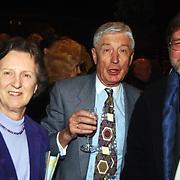 Groot Russisch Kerstcircus Den Haag, Dries en Eugenie van Agt + Rusland ambassadeur Alexander G. Khodakov