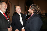 Georg Baselitz and Julian Schnabel, Georg Baselitz, Royal Academy. 18 September 2007. -DO NOT ARCHIVE-© Copyright Photograph by Dafydd Jones. 248 Clapham Rd. London SW9 0PZ. Tel 0207 820 0771. www.dafjones.com.