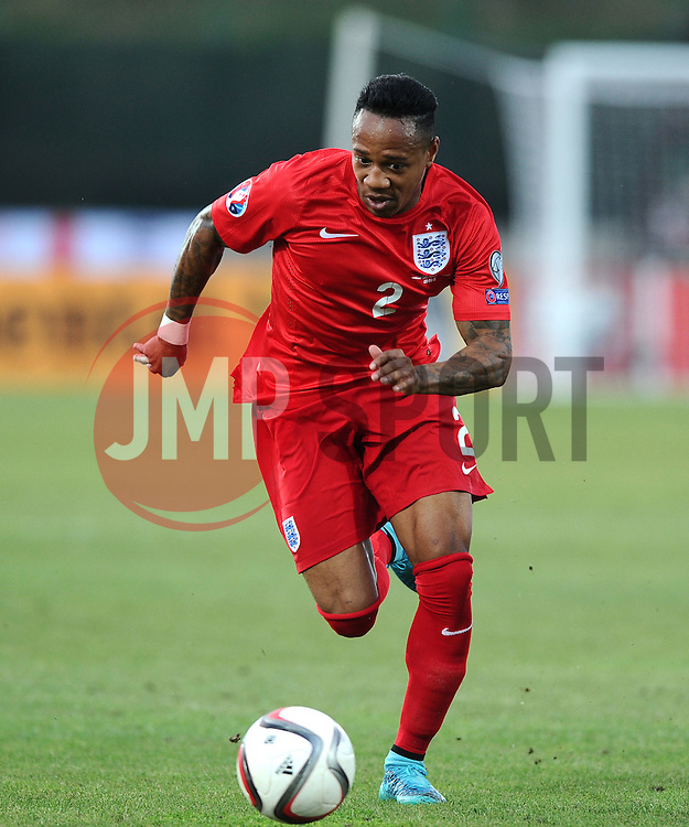 Nathaniel Clyne of England (Liverpool)  - Mandatory byline: Joe Meredith/JMP - 07966386802 - 05/09/2015 - FOOTBALL- INTERNATIONAL - San Marino Stadium - Serravalle - San Marino v England - UEFA EURO Qualifers Group Stage
