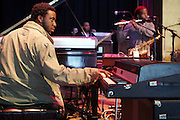 Robert Glasper at Rehearsals for Mos Def Produced by Jill Newman Productions held at Yoshi's Oakland in Oakland, California on April 14, 2009...***Exclusive***
