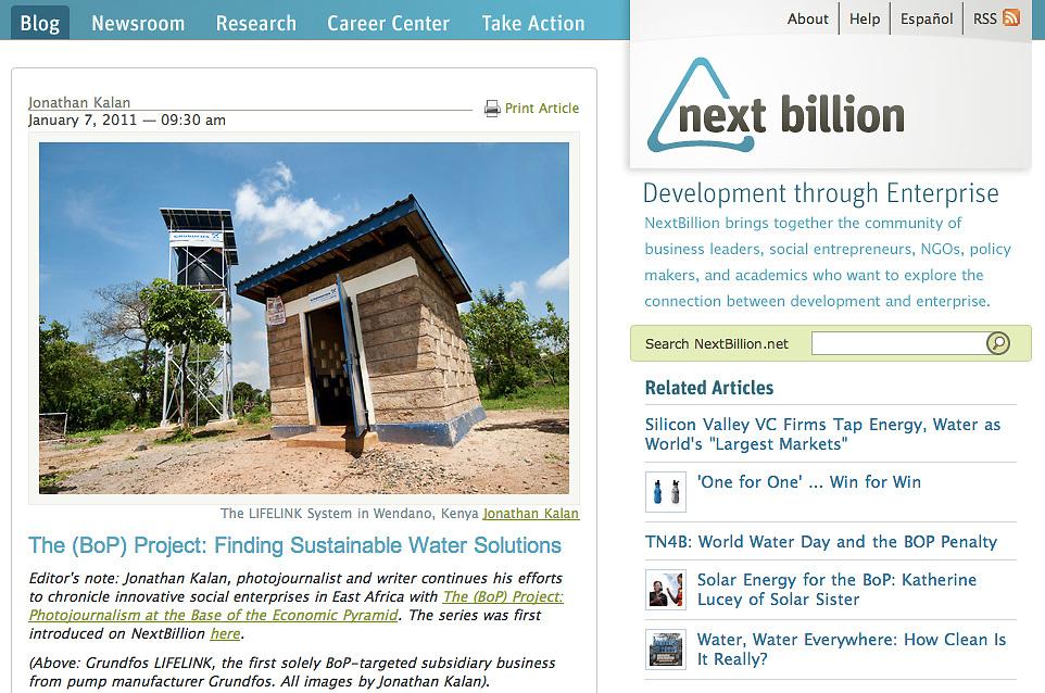 NextBillion; Text & Photographs.