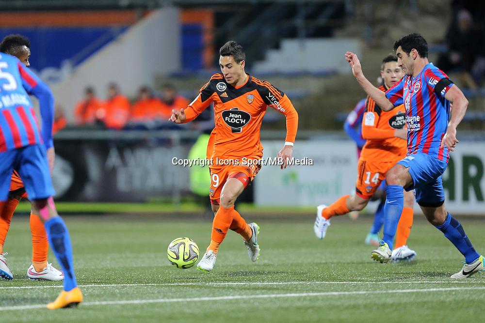 Gianni BRUNO - 14.03.2015 - Lorient / Caen - 29eme journee de Ligue 1<br /> Photo : Vincent Michel / Icon Sport
