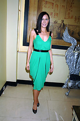 LINZIE STOPPARD at the 10th Anniversary Party of the Lavender Trust, Breast Cancer charity held at Claridge's, Brook Street, London on 1st May 2008.<br />