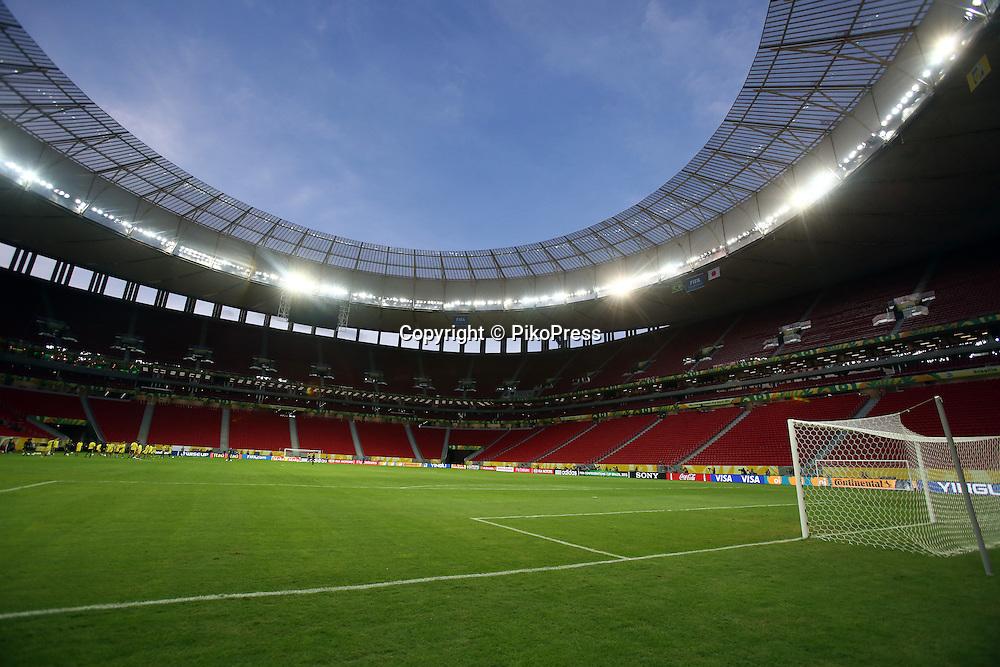 FIFA CONFEDERATIONS CUP BRAZIL 2013 - Brasilia - <br /> Estadio Nacional de Brasilia , Mane Garrincha.<br /> Japan National Team training.<br /> June 14, 2013<br /> &copy; Gabriel Piko / PikoPress
