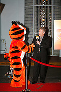 Icon Tony the Tiger arrives at the First Food Network Awards Show live to tape performance held at the Jackie Gleason Theater  of the Performing Arts, in Miami, FL on  Feb 23, 2007.  (Photo/Lance Cheung) <br /> <br /> PHOTO COPYRIGHT 2007 LANCE CHEUNG<br /> This photograph is NOT within the public domain.<br /> This photograph is not to be downloaded, stored, manipulated, printed or distributed with out the written permission from the photographer. <br /> This photograph is protected under domestic and international laws.