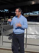 Pedro Lopez Veira addresses the group