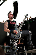 Bullet for My Valentine performing at Rock on the Range at Crew Stadium in Columbus, OH on May 22, 2011