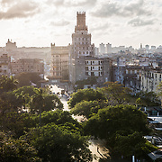 03/11/2017  OLD HAVANA, CUBA    The view from the rooftop bar of the Saratoga Hotel in Havana, Cuba.  (Aram Boghosian for The New Orleans Advocate)