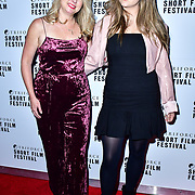 Kim DeVenne and Olivia DeVenne of HWY 101 Entertainment attend TriForce Short Festival, on 30 November 2019, at BFI Southbank, London, UK.