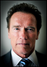 Portrait of the former Governor of California Arnold Schwarzenegger