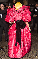 Nicki Minaj and Emily Ratajkowski arrive at Marc Jacobs Spring 2019 fashion show wearing Marc Jacobs Fall/Winter 2018 collection during New York Fashion Week. 12 Sep 2018 Pictured: Nicki Minaj. Photo credit: MEGA TheMegaAgency.com +1 888 505 6342
