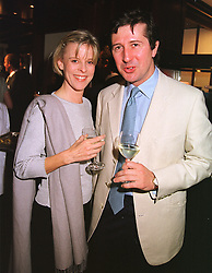 The EARL & COUNTESS OF RONALDSHAY at a party in London on 5th May 1999.MRR 43