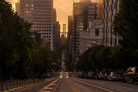 California Street, Golden Morning