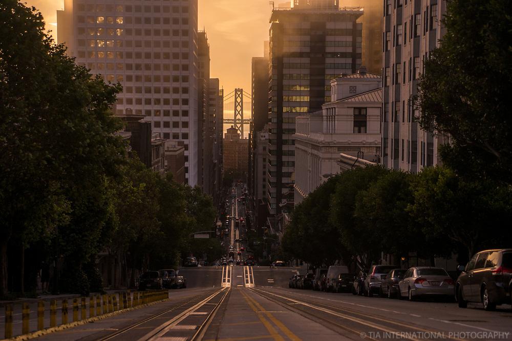 California Street, Golden Morning