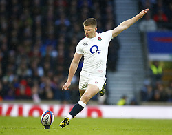 February 10, 2019 - London, England, United Kingdom - Owen Farrell of England during the Guiness 6 Nations Rugby match between England and France at Twickenham  Stadium on February 10th, 2019 in Twickenham, London,  England. (Credit Image: © Action Foto Sport/NurPhoto via ZUMA Press)