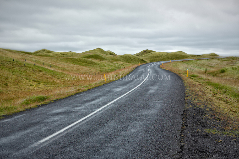 The Ring Road, or Route 1, is a 832 mile national road that runs around the island and connects the most populous parts of Iceland.