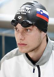 Matjaz Markic of Slovenia at international swimming meeting Siol 2005, on June 5, 2005, Kranj Swimming pool, Kranj, Slovenia.  (Photo by Vid Ponikvar / Sportida)