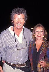 Oct 04, 1994 - Los Angeles, CA, USA - American television actor PATRICK DUFFY (born March 17, 1949 in Townsend, Montana) and wife at the 'Exit to Eden' Screening Academy (Credit Image: © Kathy Hutchins/ZUMA Press)