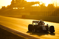 February 18, 2019 - Barcelona, Spain - Motorsports: FIA Formula One World Championship 2019, Test in Barcelona, , #7 Kimi Raikkonen (FIN, Alfa Romeo) (Credit Image: © Hoch Zwei via ZUMA Wire)