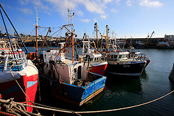 UK CORNWALL NEWLYN 10JUN08 - Fishing boats at Newlyn harbour in Cornwall, western England...jre/Photo by Jiri Rezac / WWF UK..© Jiri Rezac 2008..Contact: +44 (0) 7050 110 417.Mobile:  +44 (0) 7801 337 683.Office:  +44 (0) 20 8968 9635..Email:   jiri@jirirezac.com.Web:    www.jirirezac.com..© All images Jiri Rezac 2008 - All rights reserved.