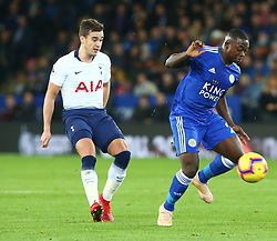 December 8, 2018 - Leicester, England, United Kingdom - Leicester, December 08, 2018.Leicester City's Nampalys Mendy.during the English Premier League match between Leicester City and Tottenham Hotspur at the King Power Stadium in Leicester, Britain, 8 December 2018  (Credit Image: © Action Foto Sport/NurPhoto via ZUMA Press)