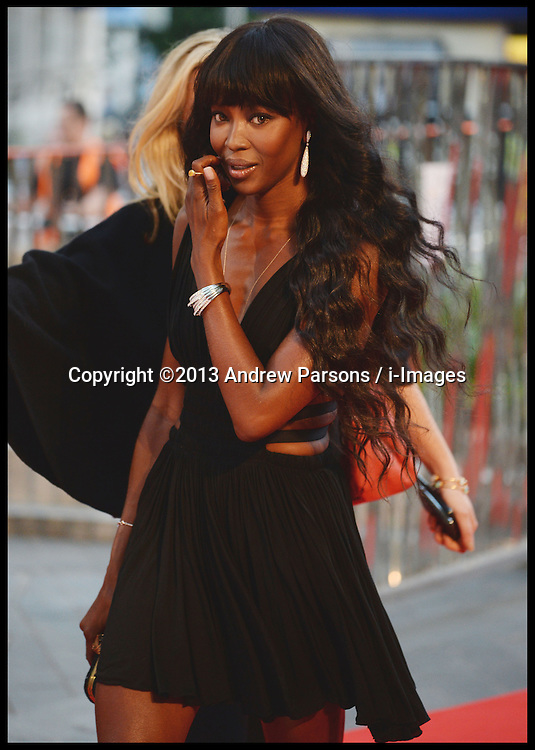 Rush - UK film premiere. <br /> Naomi Campbell during the 'Rush' - UK film premiere, Odeon, London, United Kingdom. Monday, 2nd September 2013. Picture by Andrew Parsons / i-Images