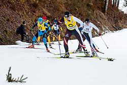 BUDALEEVA luliia Guide: MALTSEVA Tatiana, RUS at the 2014 IPC Nordic Skiing World Cup Finals - Sprint