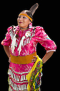 Amanda J.Franks,Blackfeet,Pow Wow Dancer,Warm Springs Pow Wow,Oregon,USA.(Model release 0097)