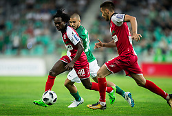 Ibrahim Arafat Mensah of NK Aluminij during football match between NK Aluminij and NK Olimpija Ljubljana in the Final of Slovenian Football Cup 2017/18, on May 30, 2018 in SRC Stozice, Ljubljana, Slovenia. Photo by Vid Ponikvar / Sportida
