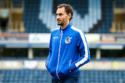 Edward Upson of Bristol Rovers arrives at Adams Park for the Sky Bet League One fixture against Wycombe Wanderers - Mandatory by-line: Robbie Stephenson/JMP - 18/08/2018 - FOOTBALL - Adam's Park - High Wycombe, England - Wycombe Wanderers v Bristol Rovers - Sky Bet League One