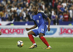 October 10, 2017 - Paris, France - Djibri Sidibé 19  during the Fifa 2018 World Cup qualifying match between France and Belarus on October 10, 2017 in Paris, France. (Credit Image: © Elyxandro Cegarra/NurPhoto via ZUMA Press)