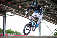 #99 (YAMAGUCHI Daichi) JPN at Round 5 of the 2019 UCI BMX Supercross World Cup in Saint-Quentin-En-Yvelines, France