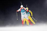 PYEONGCHANG-GUN, SOUTH KOREA - FEBRUARY 12: Weronika Nowakowska of Poland during the Womens Biathlon 10km Pursuit at Alpensia Biathlon Centre on February 12, 2018 in Pyeongchang-gun, South Korea. Photo by Nils Petter Nilsson/Ombrello               ***BETALBILD***