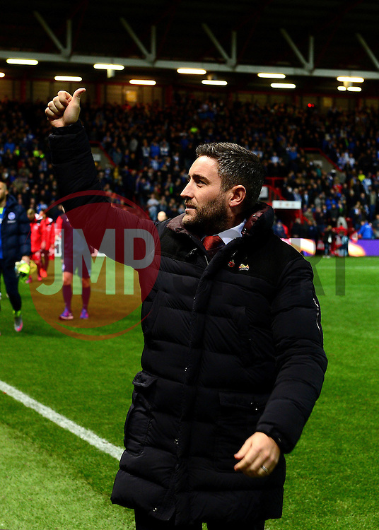 Bristol City head coach Lee Johnson  - Mandatory by-line: Dougie Allward/JMP - 05/11/2016 - FOOTBALL - Ashton Gate - Bristol, England - Bristol City v Brighton and Hove Albion - Sky Bet Championship