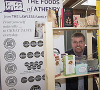 29/02/2014 Paul Lawless from the Foods of Athenry at The SCCUL Enterprise Awards prize giving ceremony and business expo which was hosted by NUI Galway in the Bailey Allen Hall, NUIG .<br />  <br /> Inspired by the rapidly growing global trends of health and wellness, NUA Naturals supplies and distributes high quality health food in Ireland and the UK while also sourcing raw ingredients internationally which are then packaged and distributed under the NUA brand name.<br />  <br /> Established in 2011, NUA Naturals currently employs 11 people at their base in Westside, Galway. The company entered the UK market last year and has plans to increase their reach internationally over the next 18 months.<br />  <br /> NUA Naturals&rsquo; Niall Fennell was presented with his prize by Padraig O&rsquo; Callaghan, Chairman of St. Columba&rsquo;s Credit Union Galway, and John Lenihan, Chairman of SCCUL Enterprises who jointly sponsored the winner&rsquo;s prize.<br />  <br /> Speaking at the event, Mr. Fennell said that he was honored and delighted to receive this award.<br />  <br /> &ldquo;Entering the SCCUL Awards has been an incredible experience for us. It has allowed us to take a step back and really look at our business. We will invest our award back into our business to help us take our business to the next level,&rdquo; said Mr. Fennell.<br />  <br /> NUA Naturals also receives a &euro;2500 advertising package from local media sponsor Galway Independent and a specially commissioned sculpture by Galway based sculptor, Liam Butler. Photo:Andrew DownesThe SCCUL Enterprise Social Enterprises Award was won by Act for Meningitis and Ex Ordo Ltd was the recipient of the SCCUL Enterprise ICT Award. The winner was announced at the annual SCCUL Enterprise Awards prize giving ceremony and business expo which was hosted by NUI Galway in the Bailey Allen Hall, NUIG .<br />  <br /> Inspired by the rapidly growing global trends of health and wellness, NUA Naturals supplies and distributes high quality health food in Ireland and the UK while also sourcing raw ingredients internationally which ar