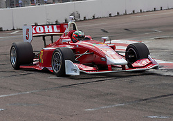 March 9, 2019 - St. Petersburg, FL, U.S. - ST. PETERSBURG, FL - MARCH 09: Lucas Kohl (5) during the Indy Lights Race of St. Petersburg on March 9 in St. Petersburg, FL. (Photo by Andrew Bershaw/Icon Sportswire) (Credit Image: © Andrew Bershaw/Icon SMI via ZUMA Press)