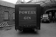 25/08/1965<br /> 08/25/1965<br /> 25 August 1965<br /> Powers Distillery vans at John Power Ltd.  Distillery, Johns Lane, Dublin.