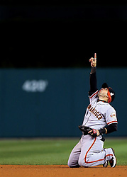 Marco Scutaro and the San Francisco Giants win, 2012