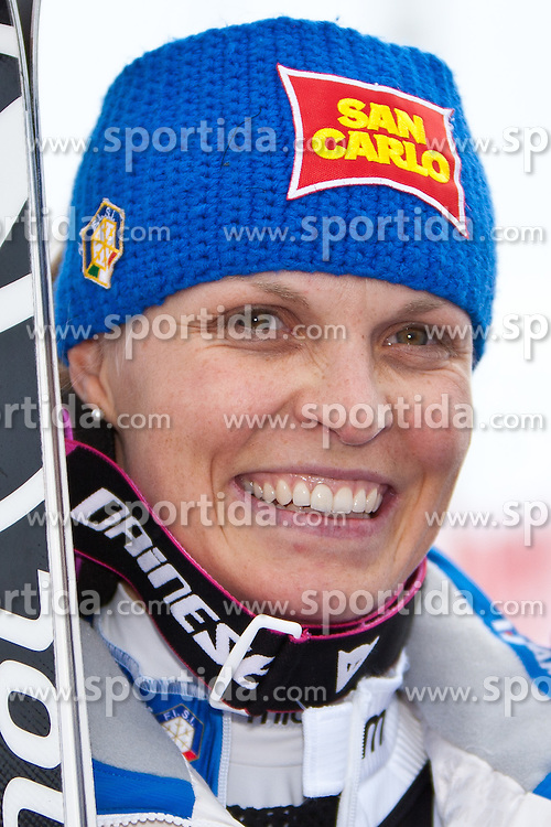 23.10.2010, Rettenbachferner, Soelden, AUT, FIS World Cup Ski Alpin, Lady, 2nd run, im Bild drittplazierte MOELGG Manuela, ITA, Ski Rossignol, #4, EXPA Pictures © 2010, PhotoCredit: EXPA/ J. Groder