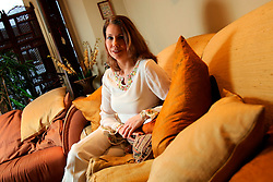 UK ENGLAND LONDON 5JAN07 - Former German MTV presenter Kristiane Backer (Jaafar) poses for portraits at her Chelsea home. Mrs Backer is married to Moroccan TV journalist Rachid Jaafar and has converted to Islam.<br /><br />jre/Photo by Jiri Rezac<br /><br />© Jiri Rezac 2007<br /><br />Contact: +44 (0) 7050 110 417<br />Mobile:  +44 (0) 7801 337 683<br />Office:  +44 (0) 20 8968 9635<br /><br />Email:   jiri@jirirezac.com<br />Web:    www.jirirezac.com<br /><br />© All images Jiri Rezac 2007 - All rights reserved.
