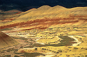 Painted Hills at John Day Fossil Beds National Monument, Oregon.