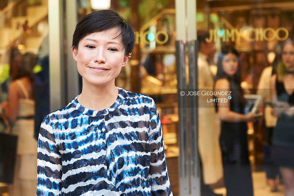 Sandra Choi attended the Reopening of Jimmy Choo store in Madrid on June 13, 2017