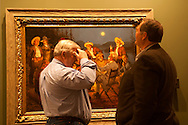 The Russell, C.M. Russell Museum Sale, Great Falls, Montana, 2011, viewing American Storytellers by Andy Thomas, sold $65,000 .