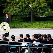 HIROSHIMA, JAPAN - MAY 27 : Families of victims of atomic bombing waiting for the visit of U.S president Barack Obama and Prime Minister Shinzo Abe in front of the Hiroshima Peace Memorial Park in Hiroshima, Japan on May 27, 2016.<br /> <br /> Photo: Richard Atrero de Guzman<br /> <br />  <br /> <br /> <br /> <br /> <br /> <br /> Photo: Richard Atrero de Guzman