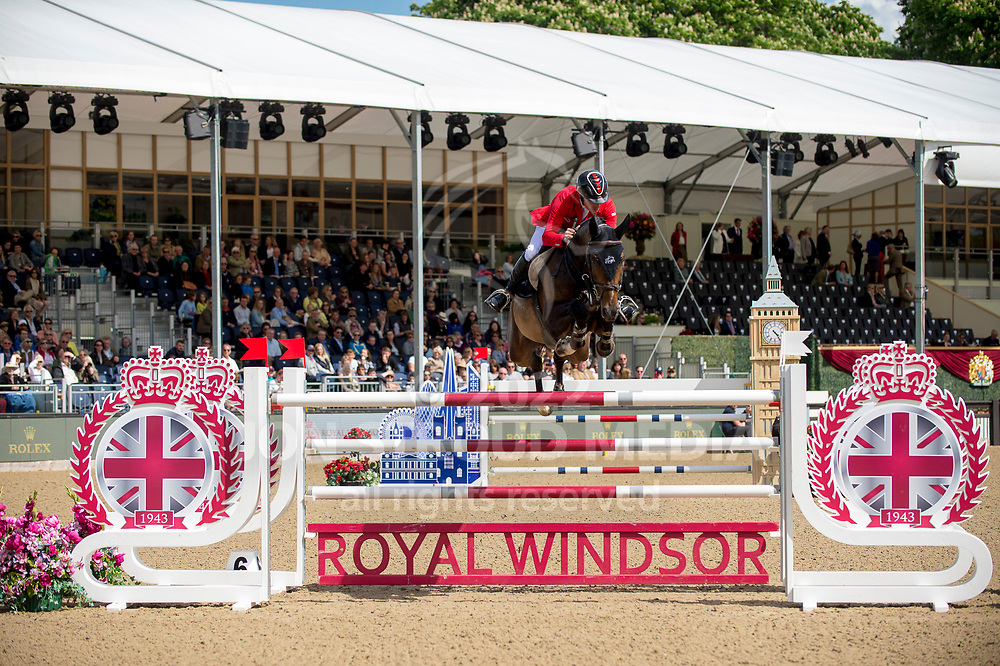 Pius Schwizer  (SUI) & Balou Rubin R- Rolex Grand Prix - CSI5* Jumping - Royal Windsor Horse Show - Home Park, Windsor, United Kingdom - 14 May 2017