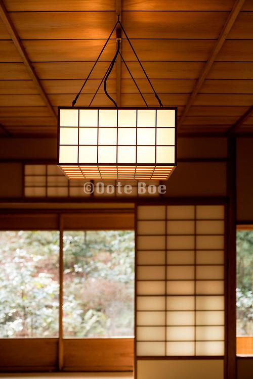 traditional Japanese garden teahouse