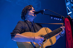 © Licensed to London News Pictures. 01/11/2016. Leeds, UK. Jack Savoretti performs at the O2 Academy in Leeds, West Yorkshire, as he tours after the release of his album 'Sleep No More'. Photo credit : Ian Hinchliffe/LNP