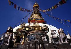 Monkey Temple, Kathmandu, Nepal. (Photo © Jock Fistick)